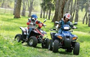 Основные правила при езде на детском квадроцикле